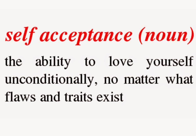 self acceptance essay